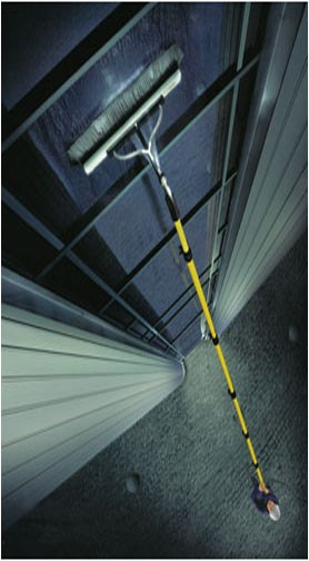 Pure water long reach pole window cleaning service Ha4 , Ha5, Ha6